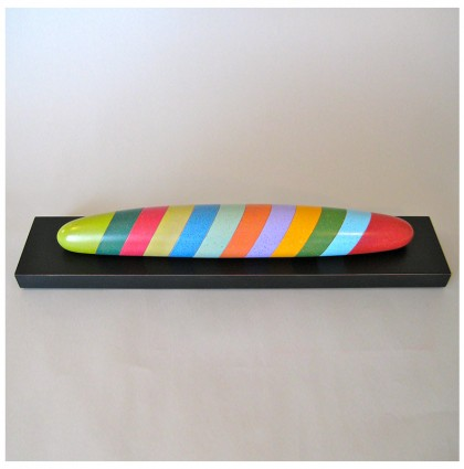 """Color Baguette""<br />2012<br />Polychrome wood"