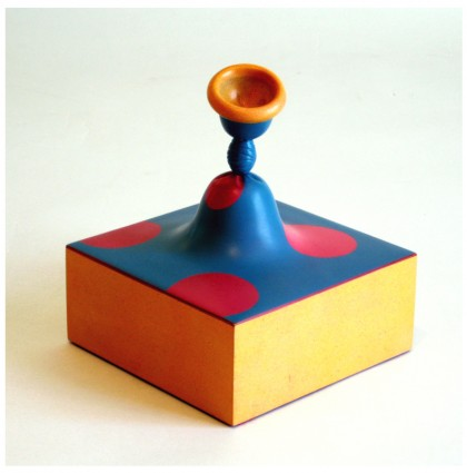 &#8220;A Piece of Balloon Pie&#8221;<br />2009<br />Polychrome Wood